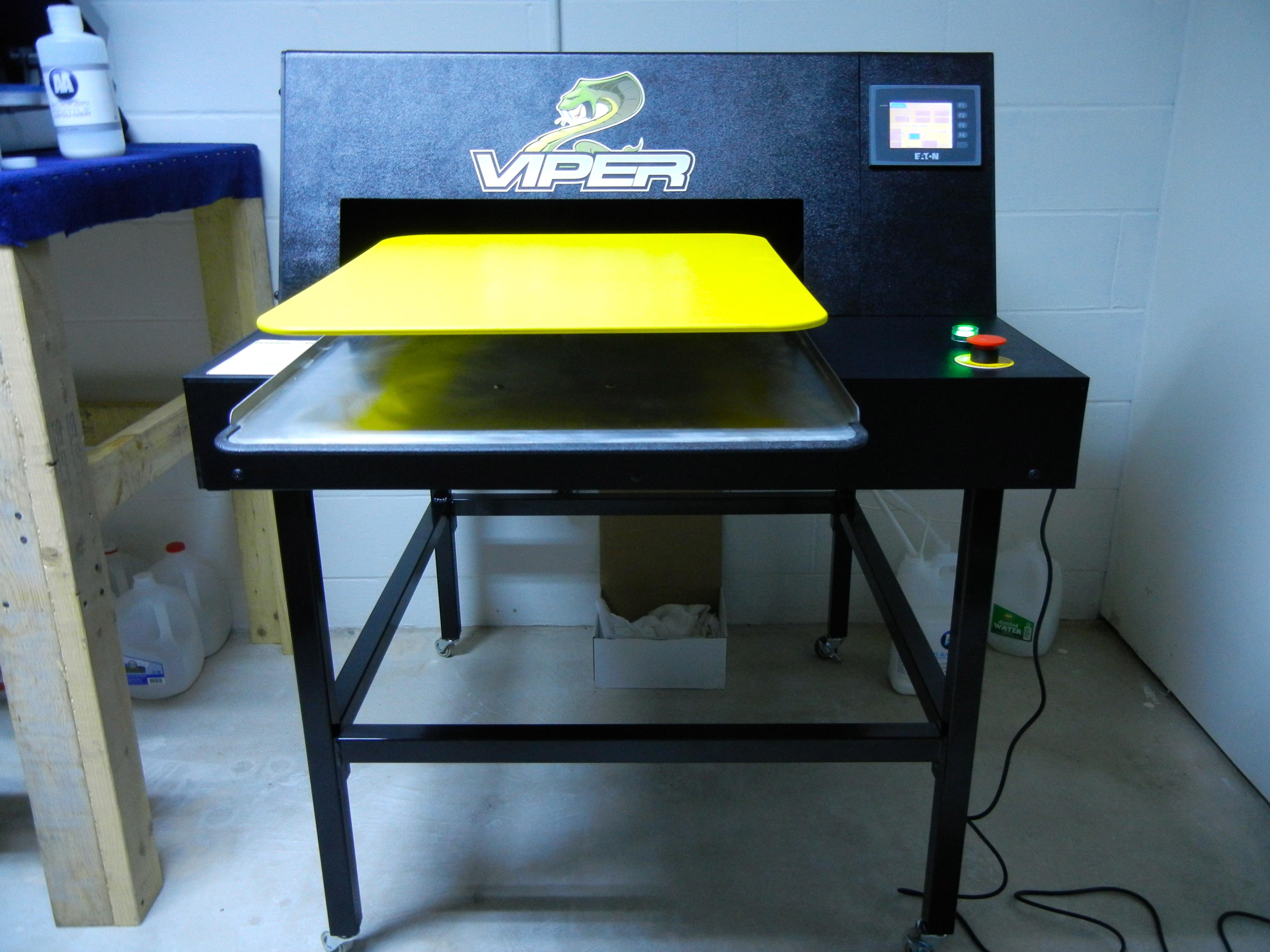 viper pretreat machine