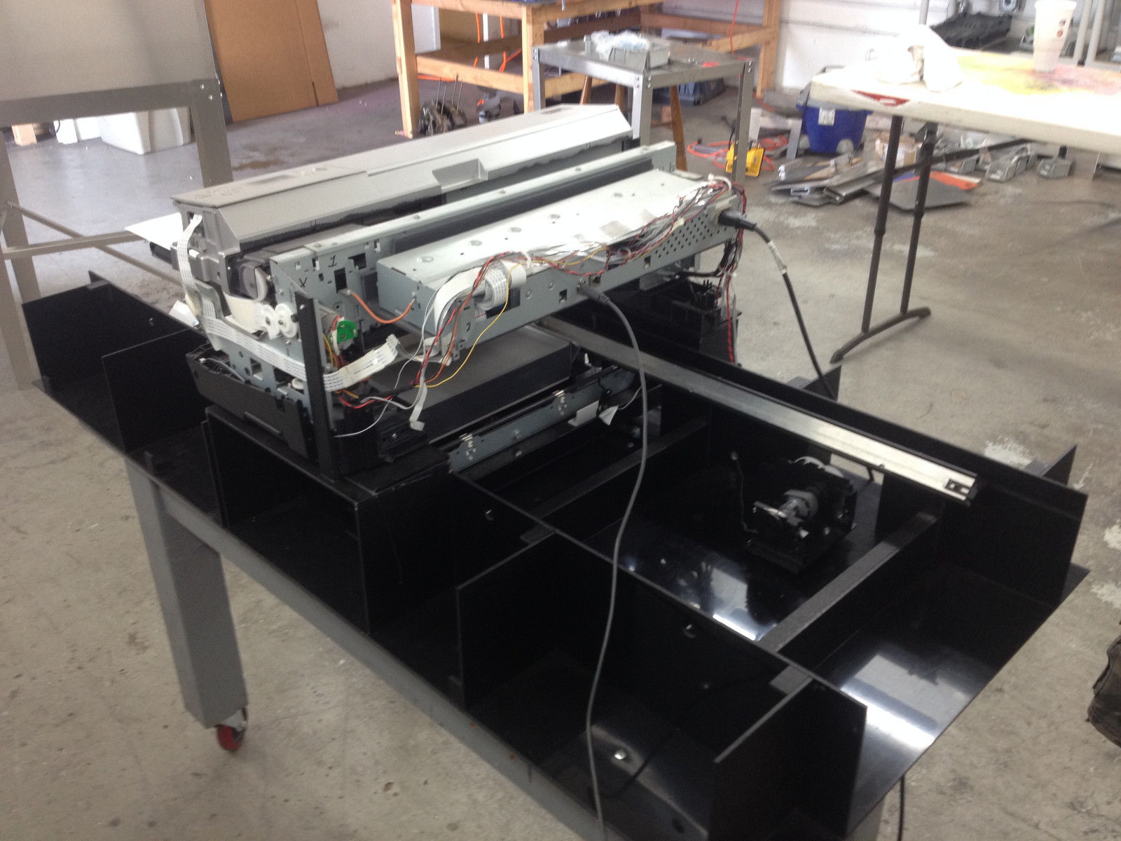 DIY Flatbed DTG Printer r3880 - $1,200