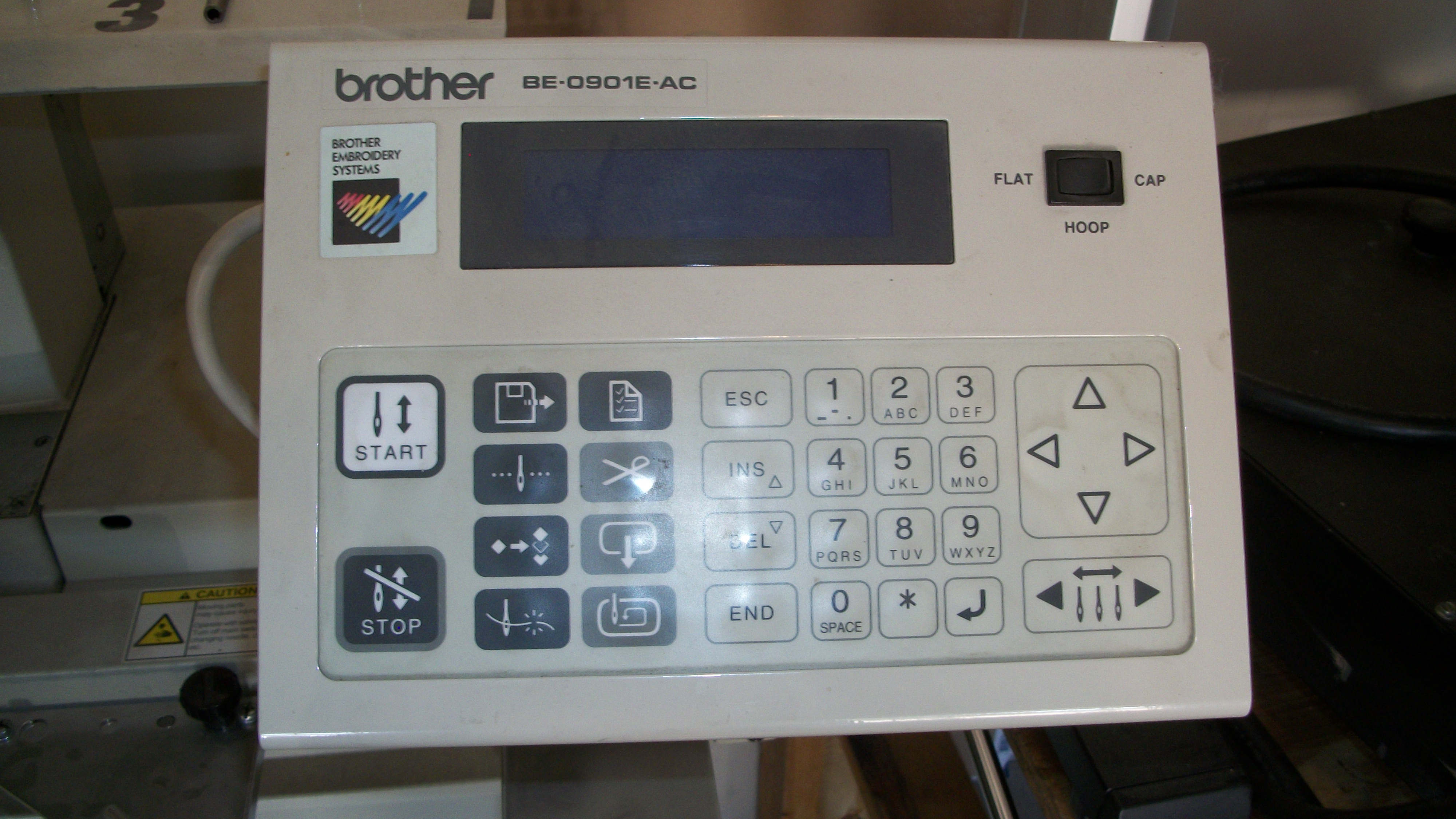 Brother 9 Needle One Head Embroidery Machine