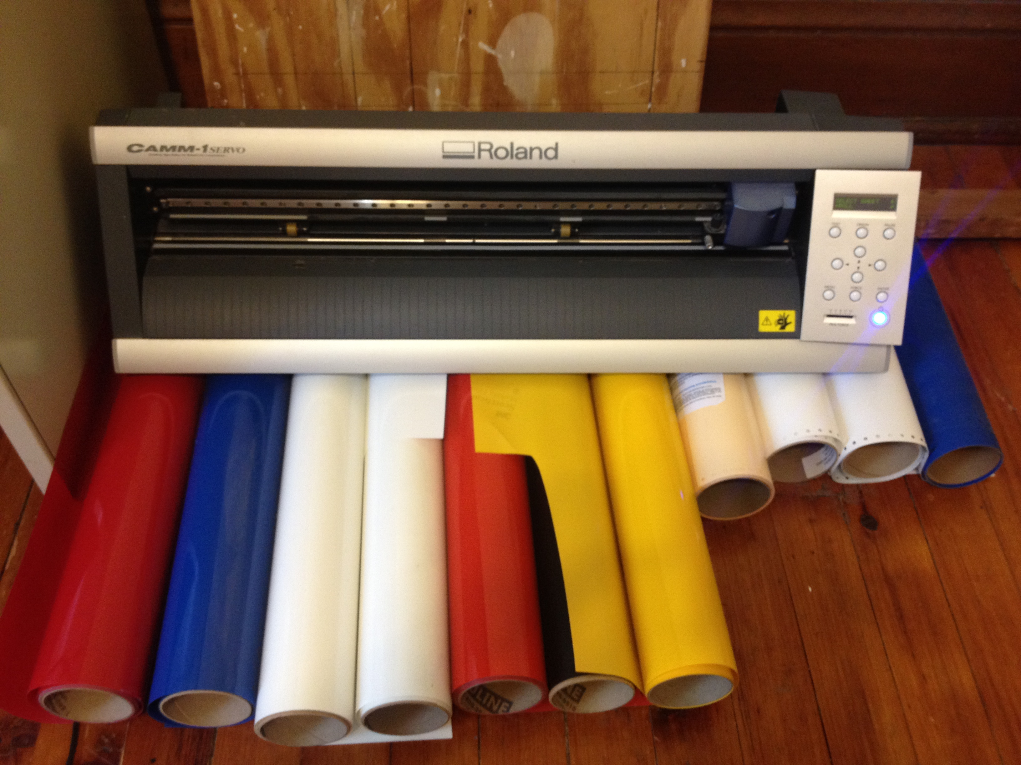 How to Replace Roland GX-24 Cutting Strip? - T-Shirt Forums