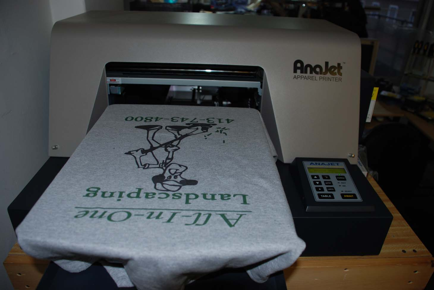 Anajet dtg white ink system printer 4 sale 3 months old for Ink sale