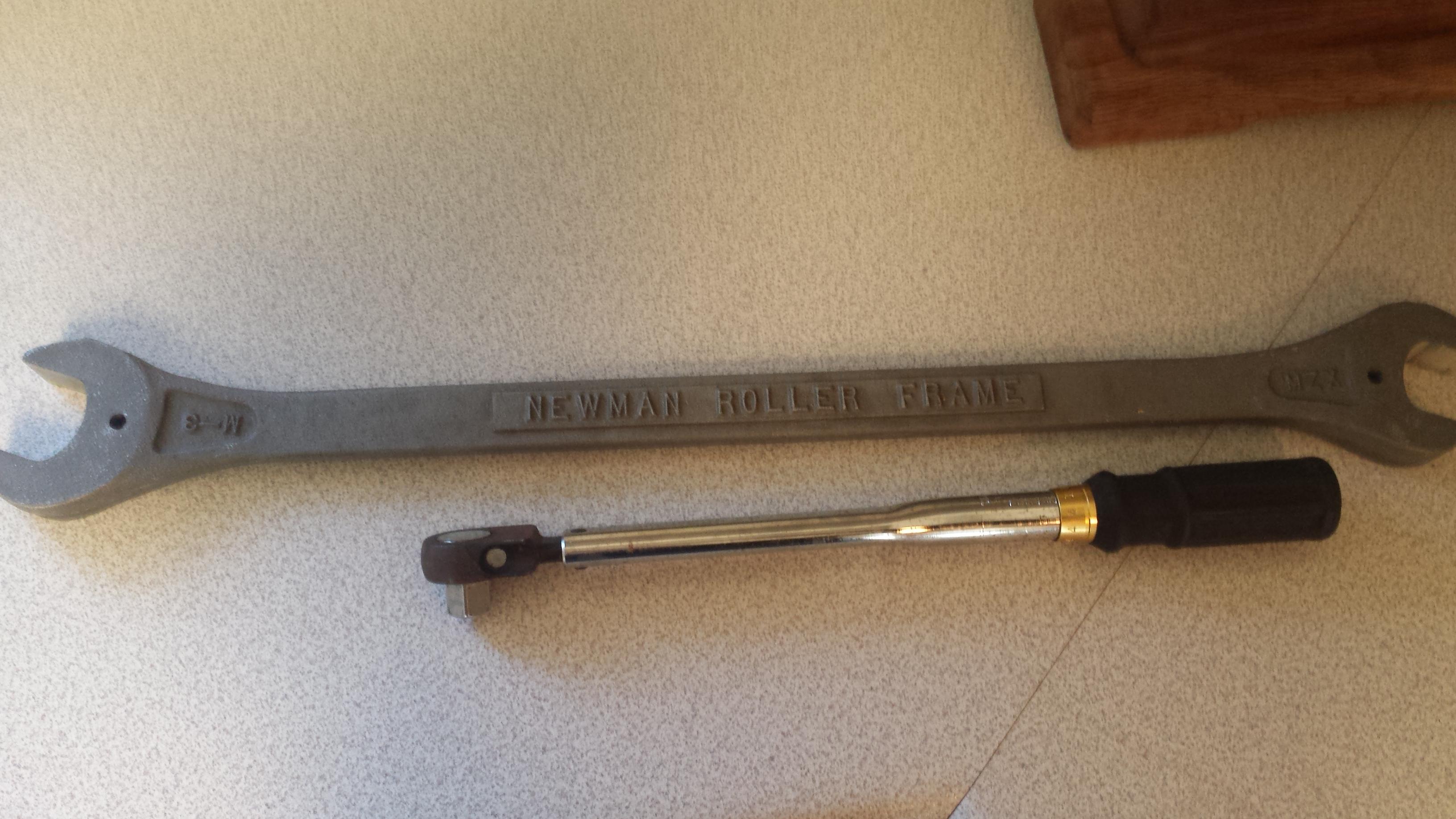 newman roller frames kit 20140513_071833jpg