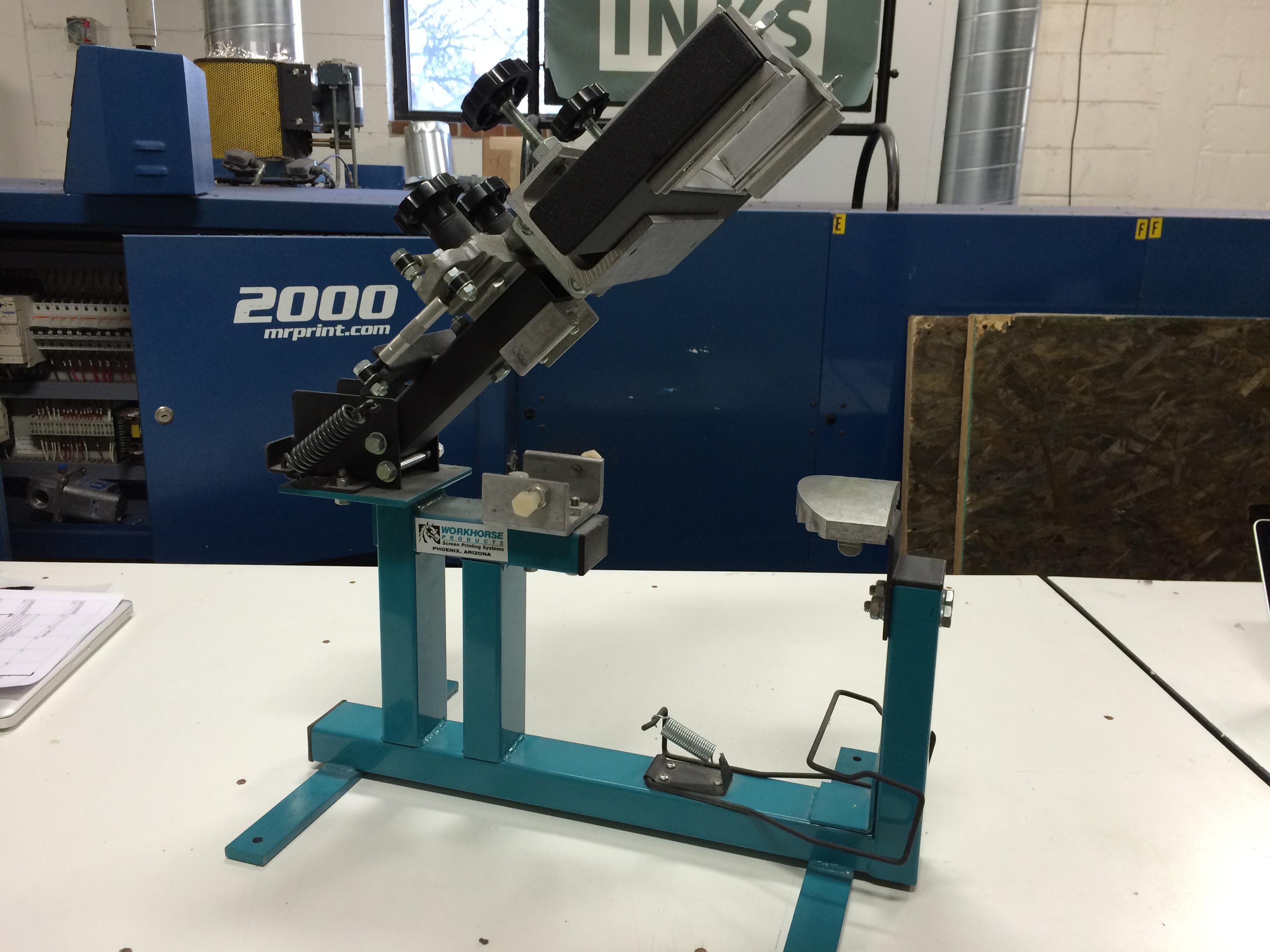 Manual Screen Printing Equipment Graphics Press More