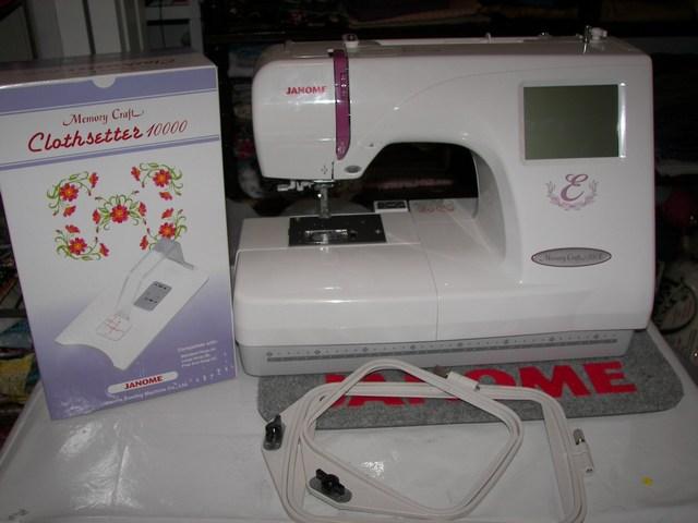 janome 350 embroidery machine