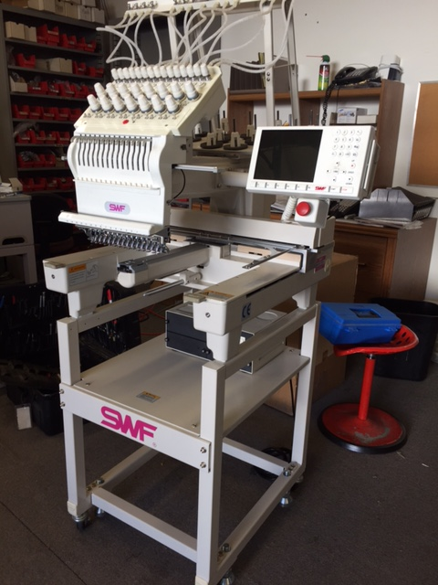 swf embroidery machine manual