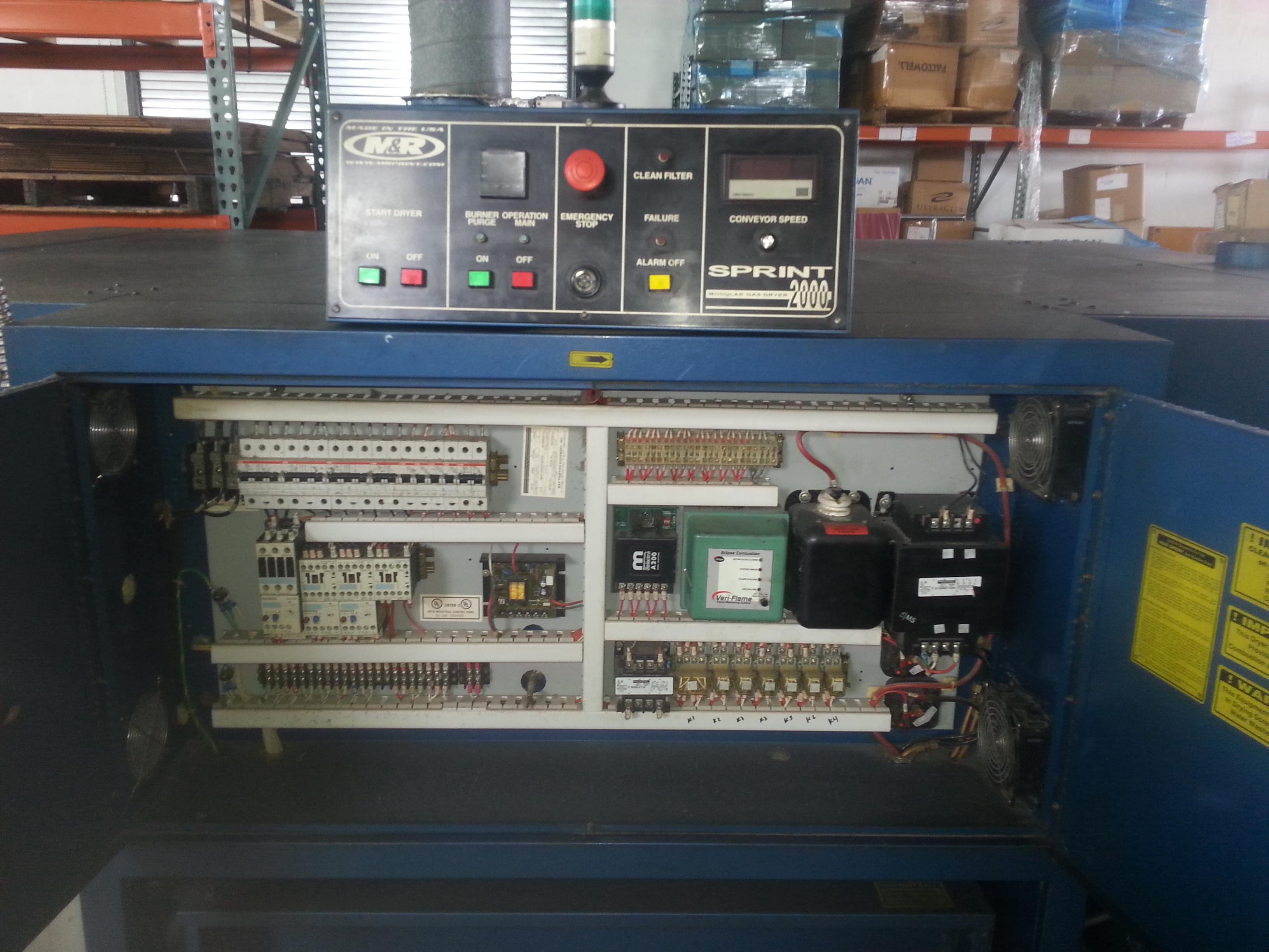 a sprint modular gas dryer for sale