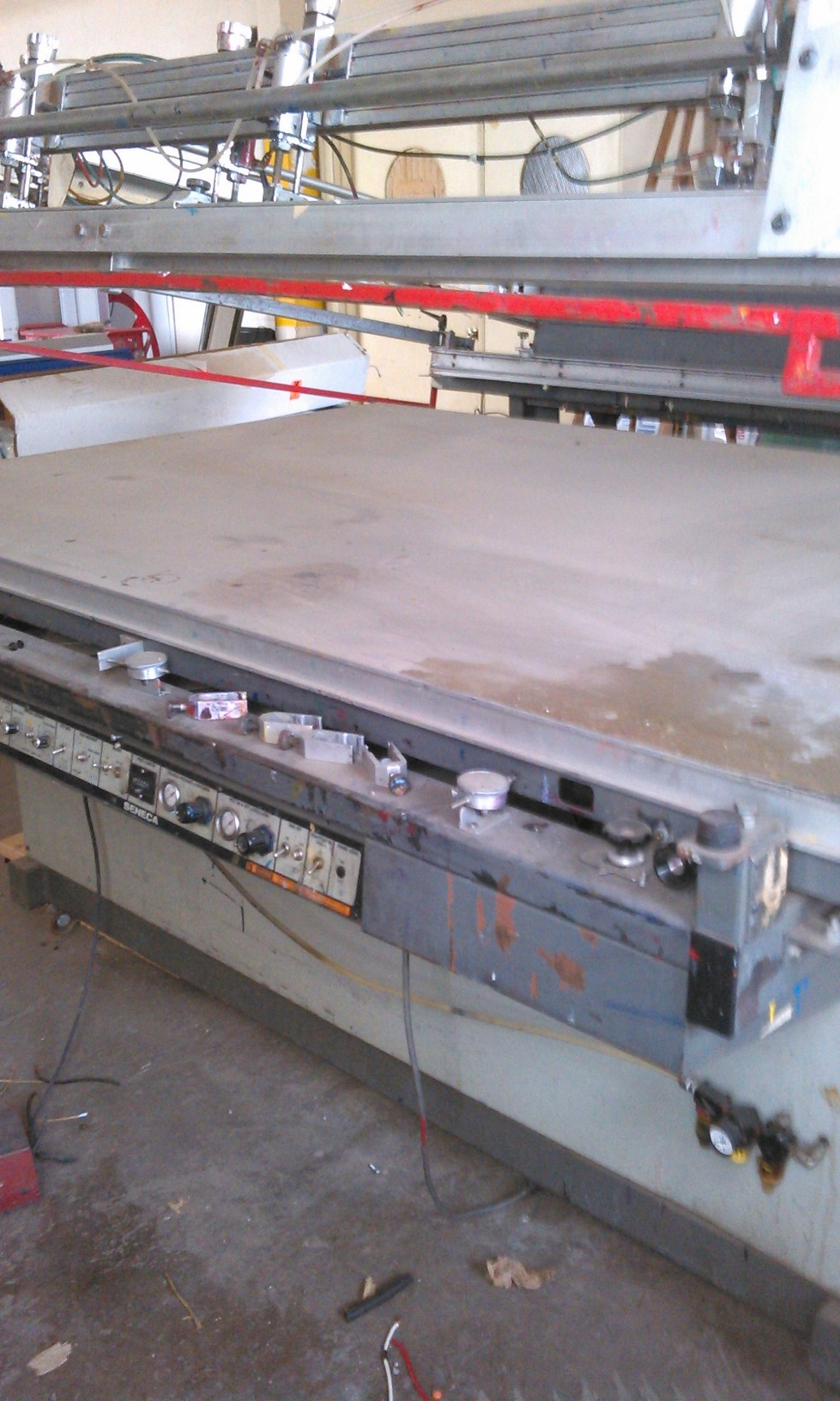 used manual screen printing press for sale