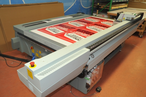 Used Large Format Printing Equipment Auction