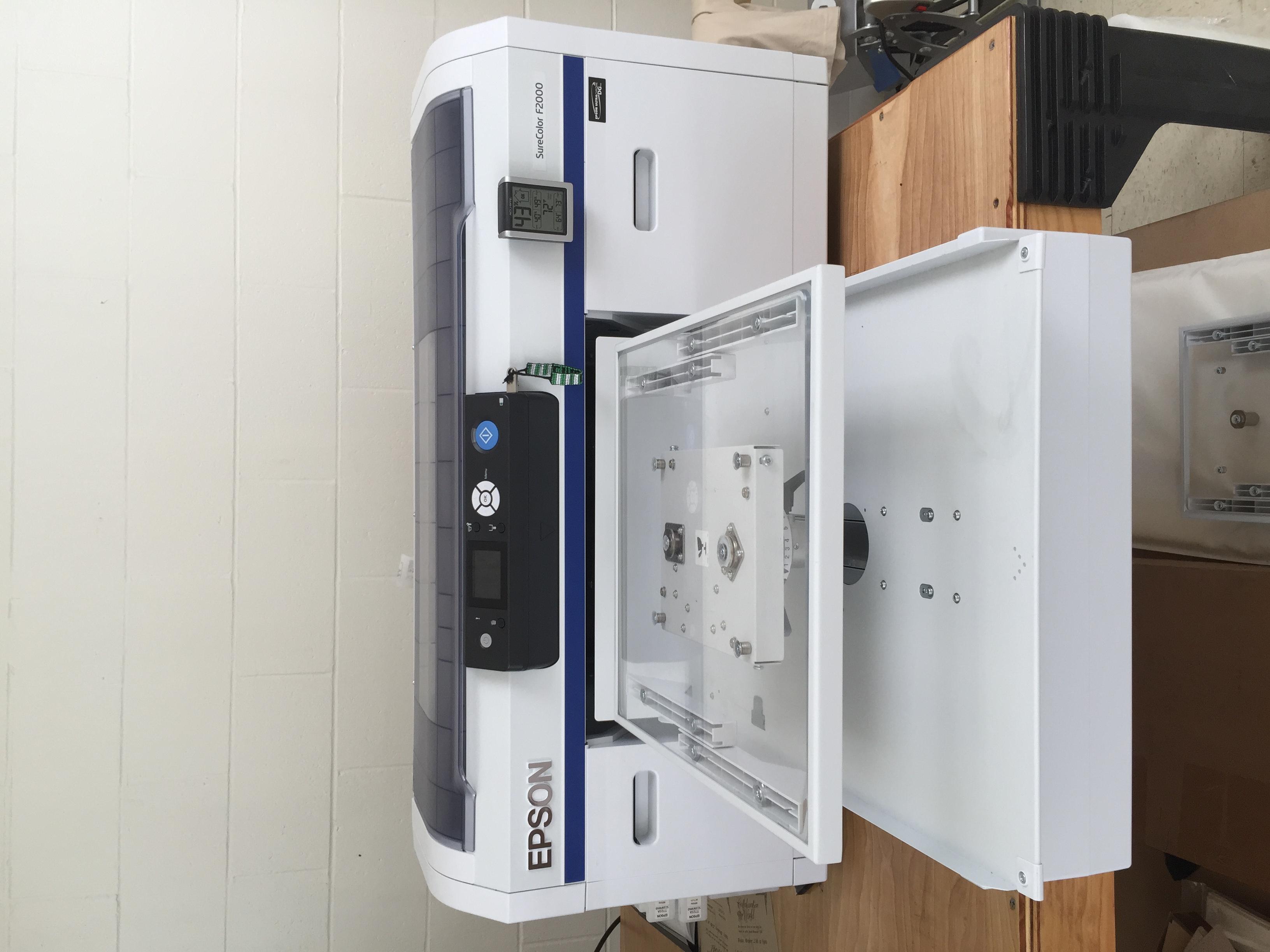 Epson F2000 Surecolor Direct To Garment Printer
