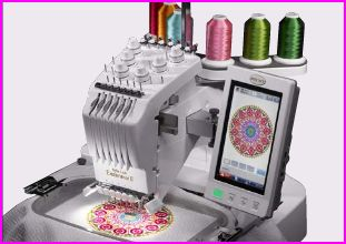 baby lock multi needle embroidery machine