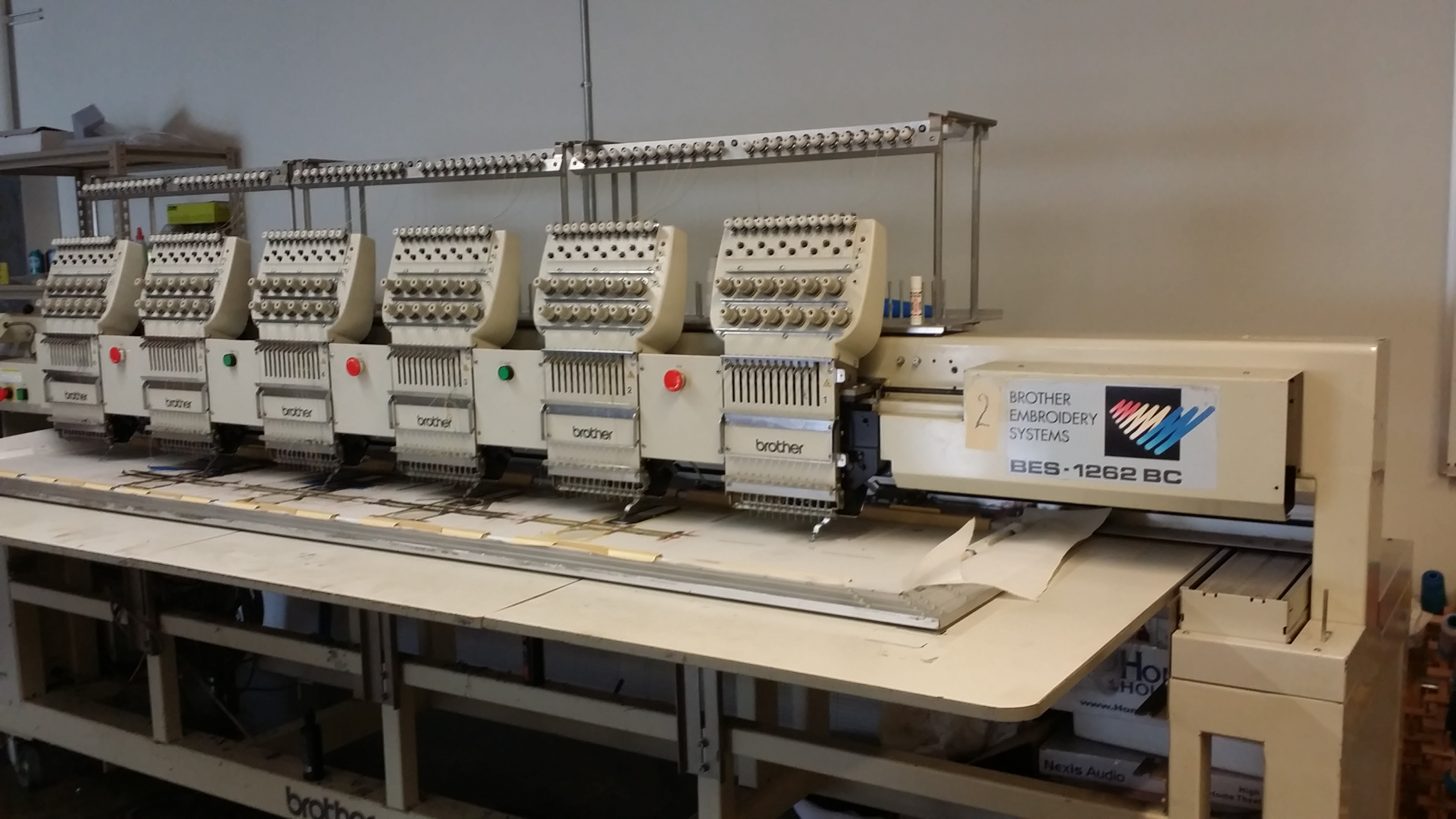 ... BROTHER BES 1262 BC 6 Head Embroidery Machine-20141114_103329.jpg