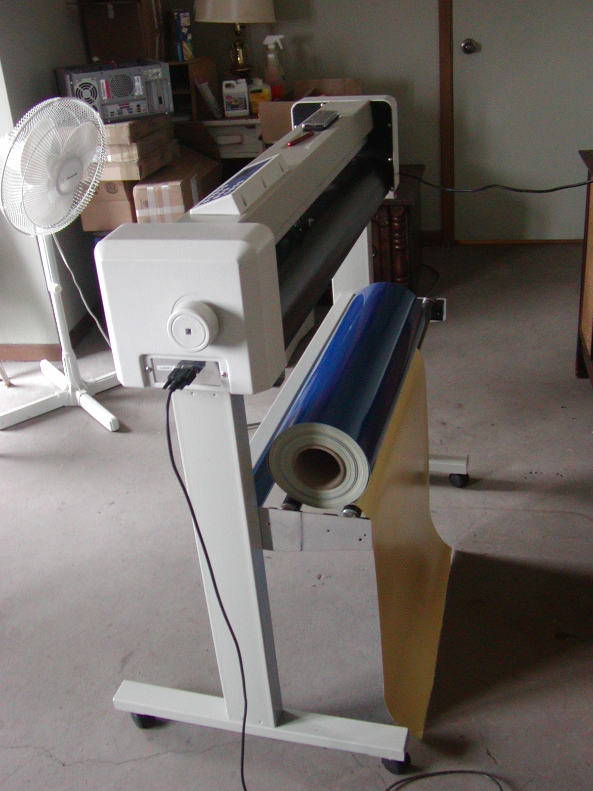 800 With Shipping 32 Quot Vinyl Cutter Plotter With Extras