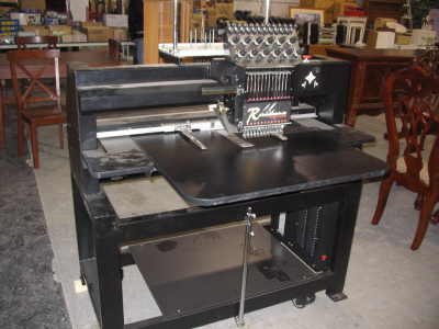 Used Embroidery Machines >> 2004 Renaissance Embroidery Machine