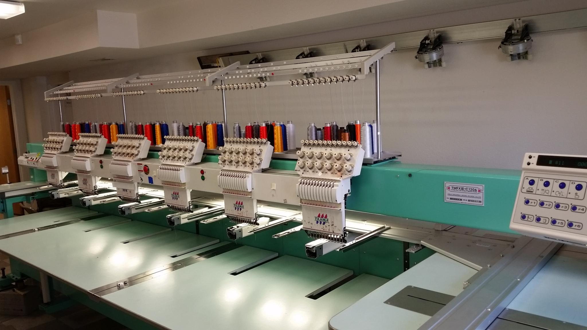 Tajima 2001 Tmfxiii C1206 Large Sewing Field