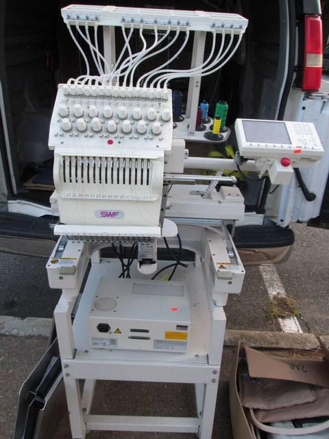 Swf E T1501c 15 Needle Embroidery Machine Rtr 5084770 02