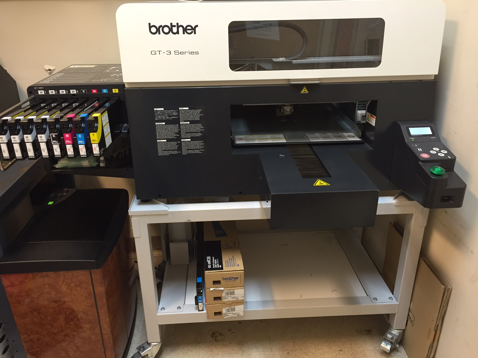 Brother Series GT-3 Series DTG Printer and extras