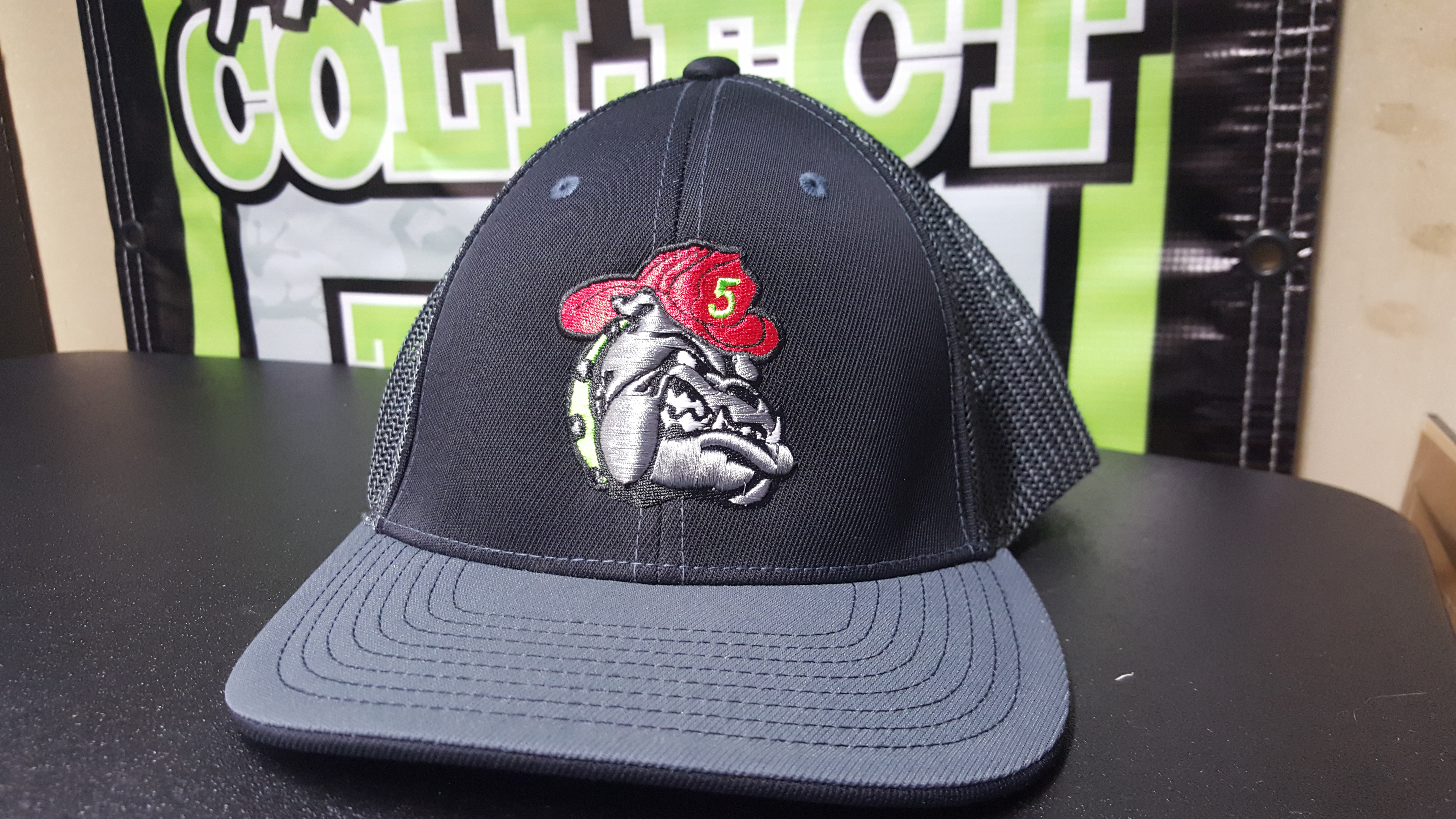 Embroidery Servicespuff Logo Hats And Tackle Twill
