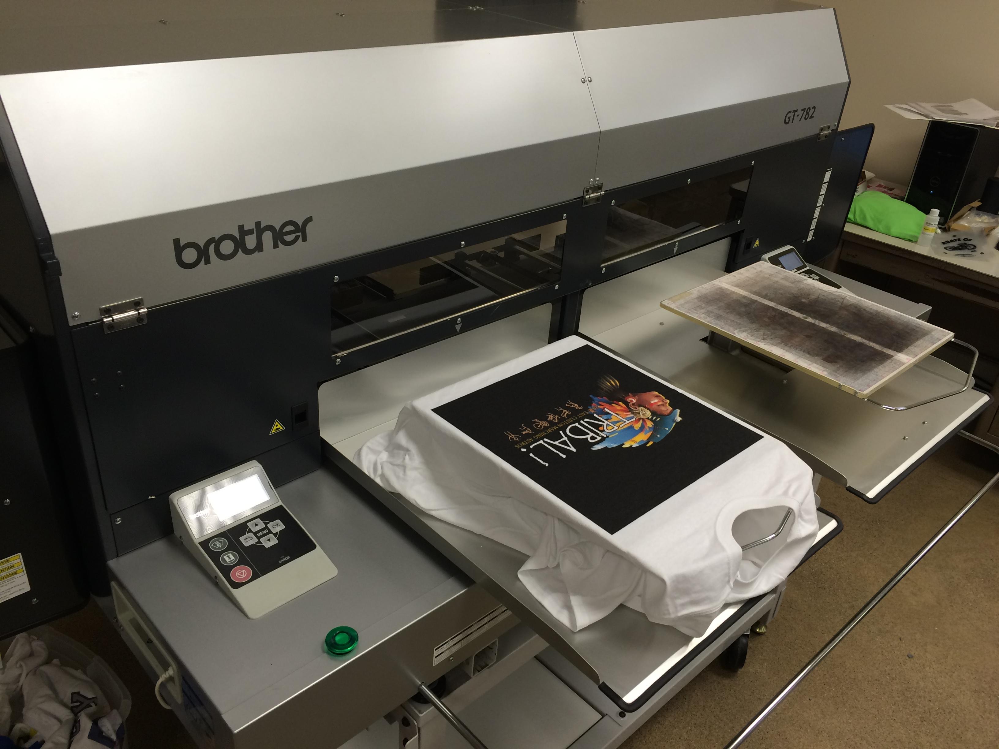 Brother gt 782 digital garment printer package for sale for T shirt digital printer
