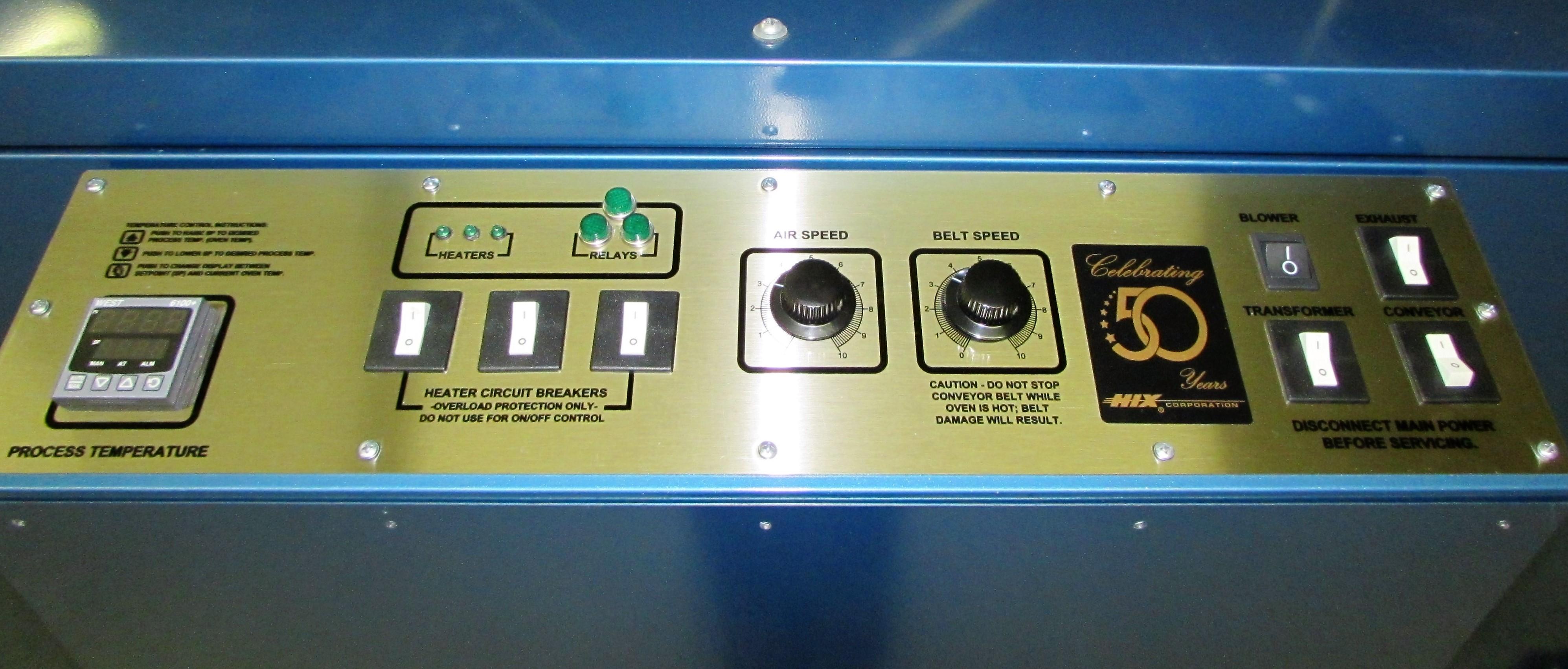 Brand New 3610 Hix Dryer 220v 3 Phase