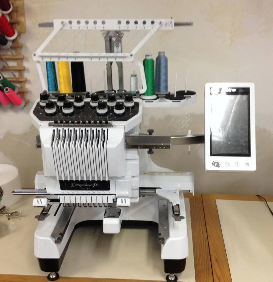 10 needle embroidery machine price