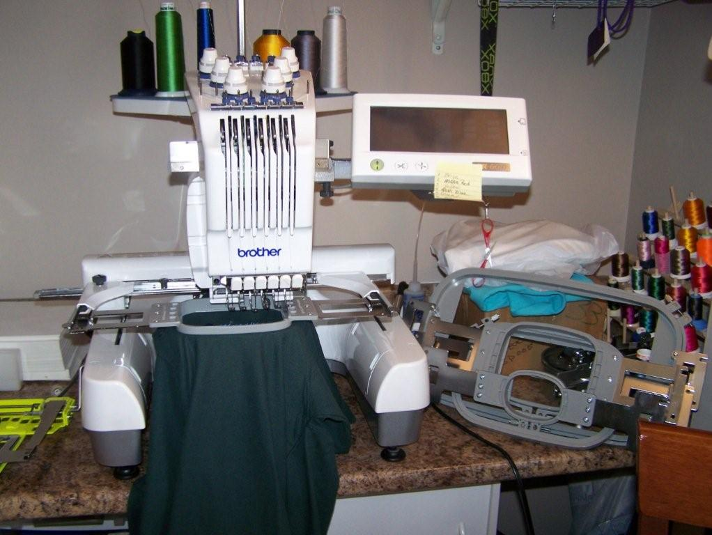 pr 600 embroidery machine