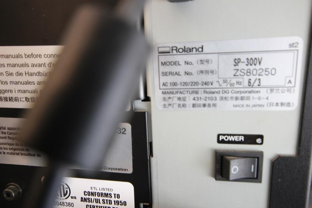 Roland Sp 300v Print And Cut And 42 Quot Heat Assist Laminator