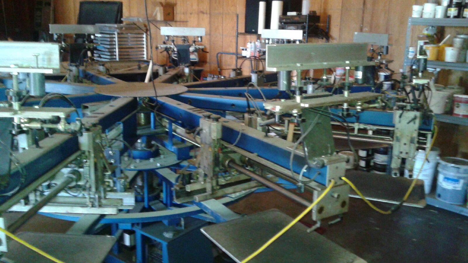 M Amp R Gauntlet S 8 10 Automatic Screen Printing Press