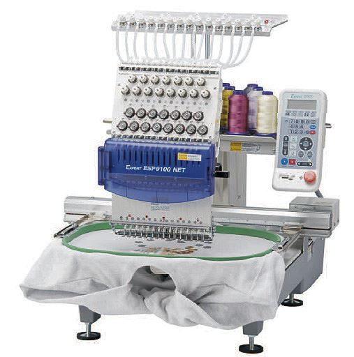 TOYOTA ESP9100NET 15 needles commercial embroidery machine