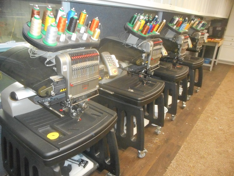 used melco embroidery machine