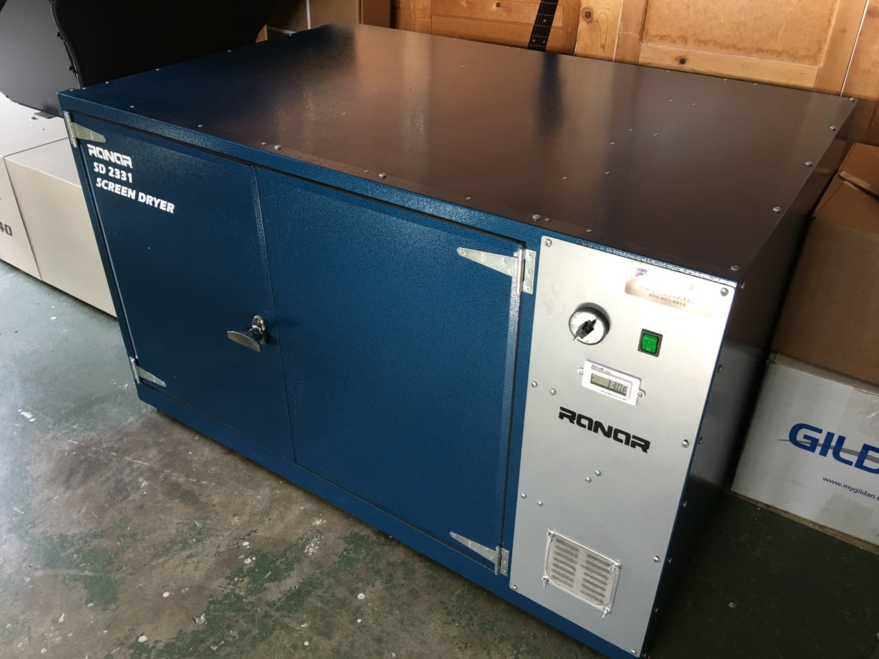 Screen Drying Cabinet ~ Ranar screen drying cabinet