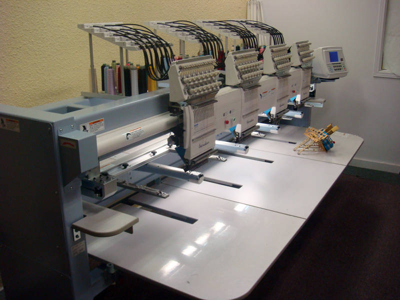Barudan 4 head Embroidery machine for sale