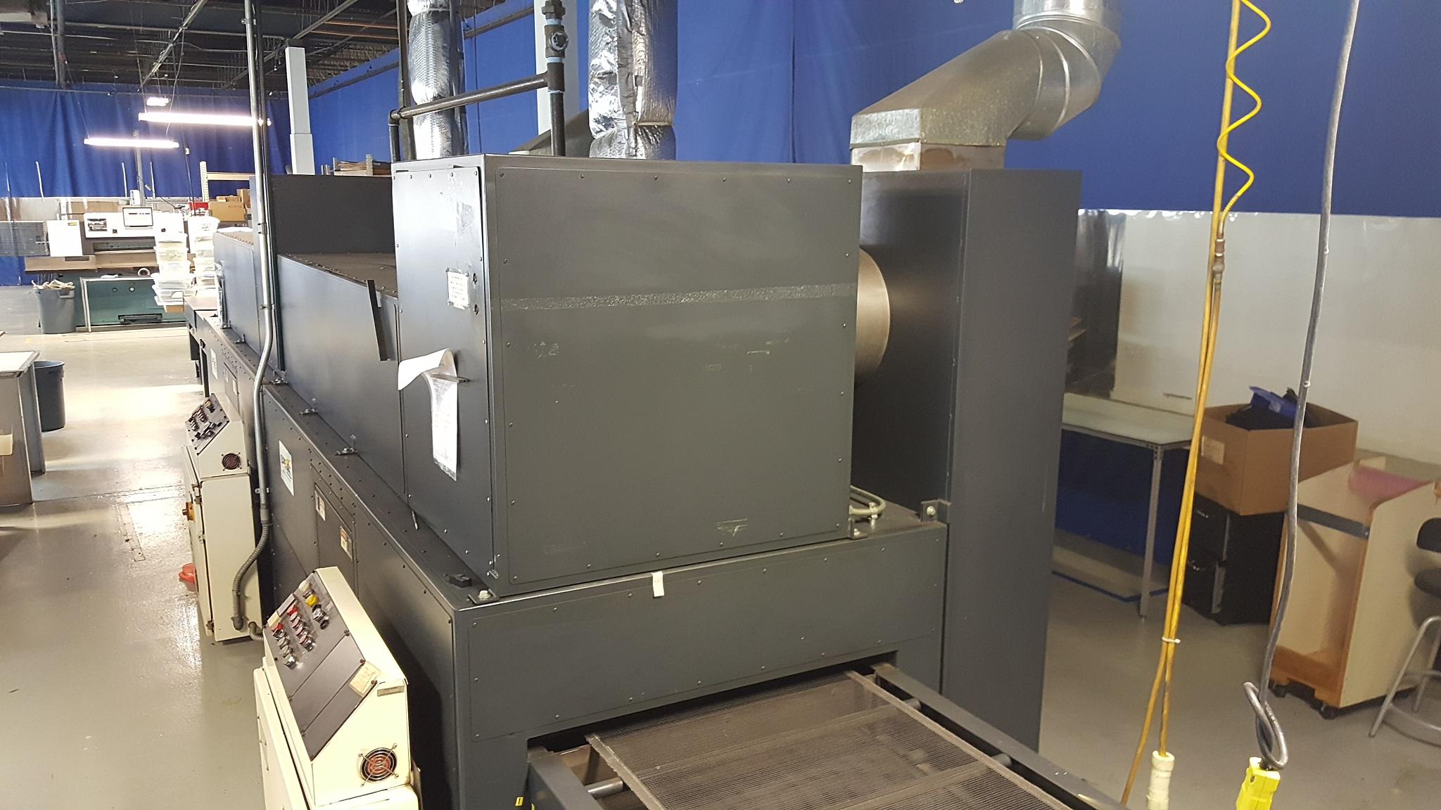spe conveyor type gas dryer for