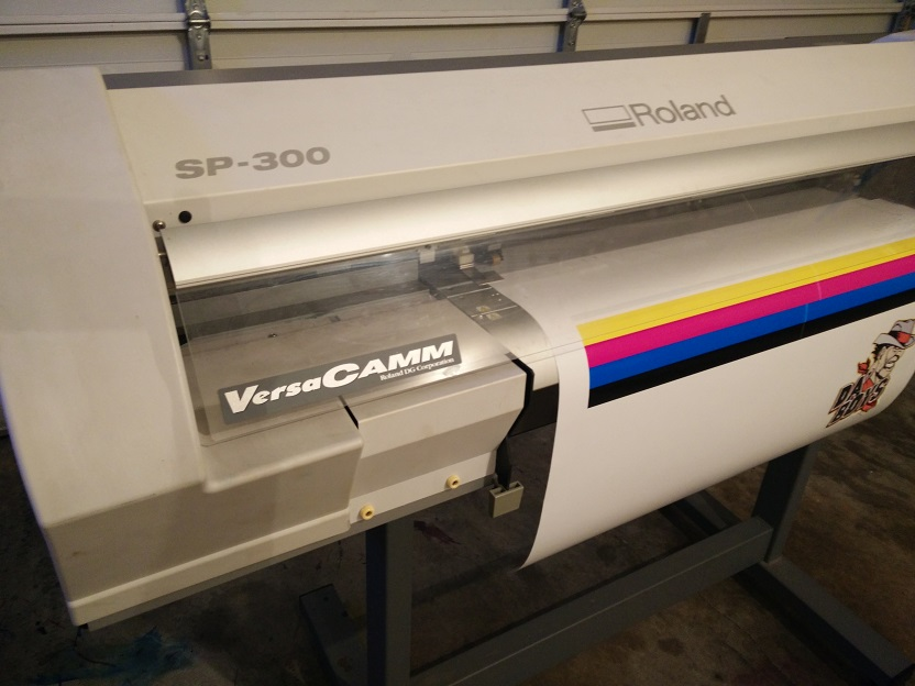 Roland Sp 300v Print And Cut