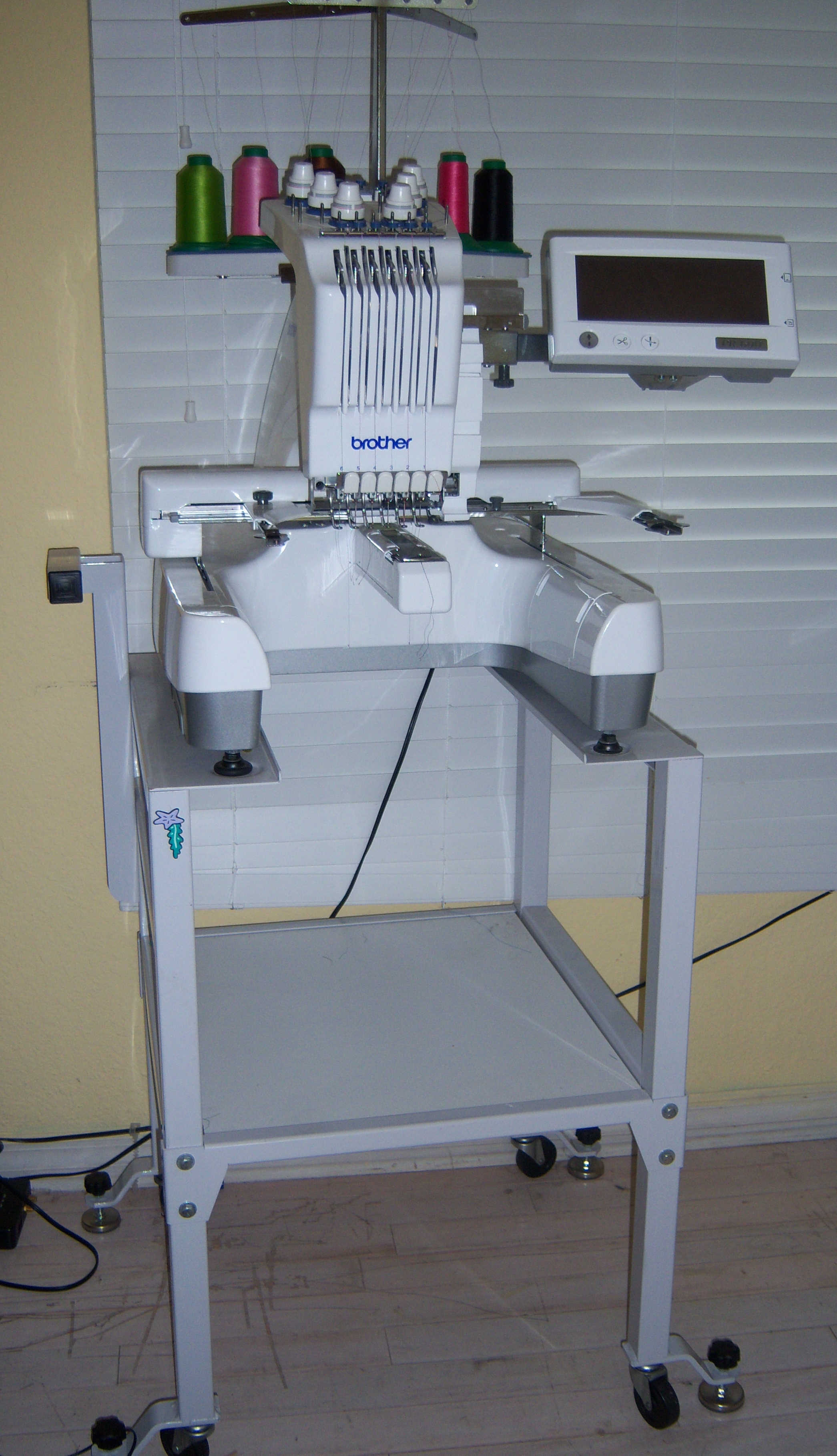 Brother PR600 for sale: Single Head, Six Needle