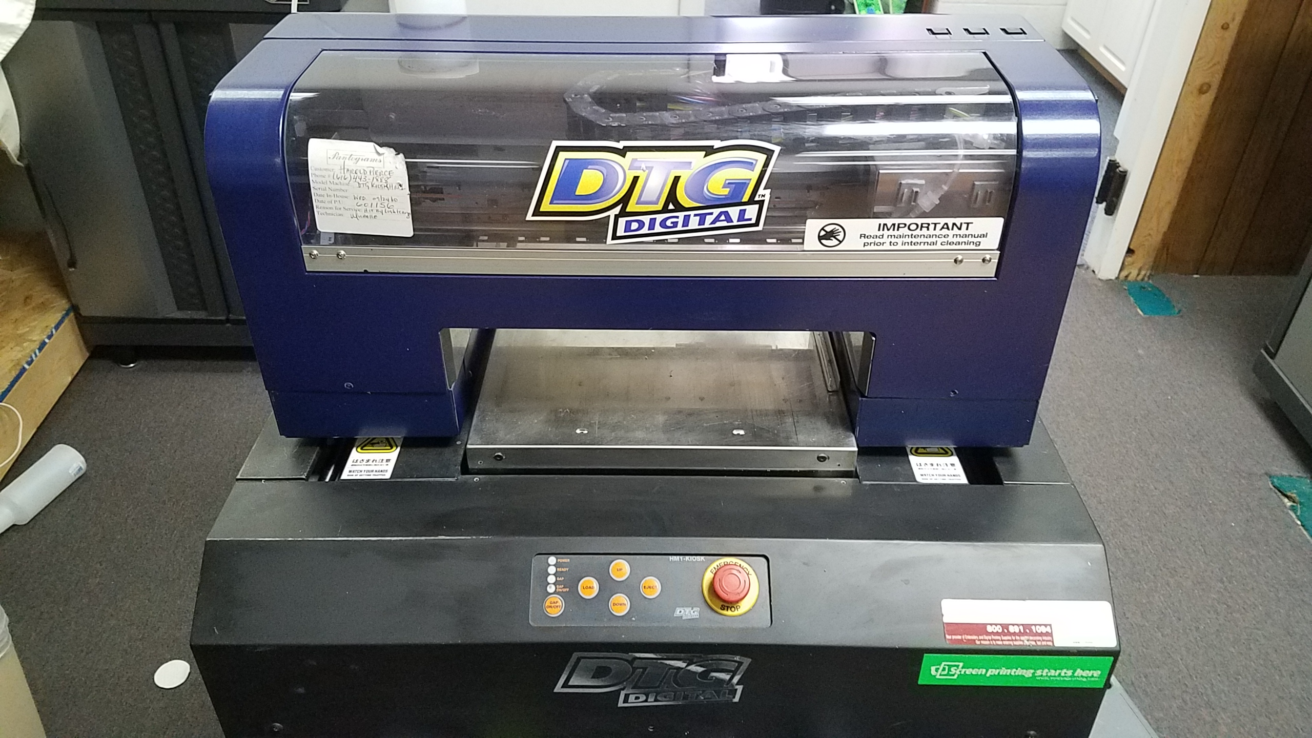 dtg machine for sale