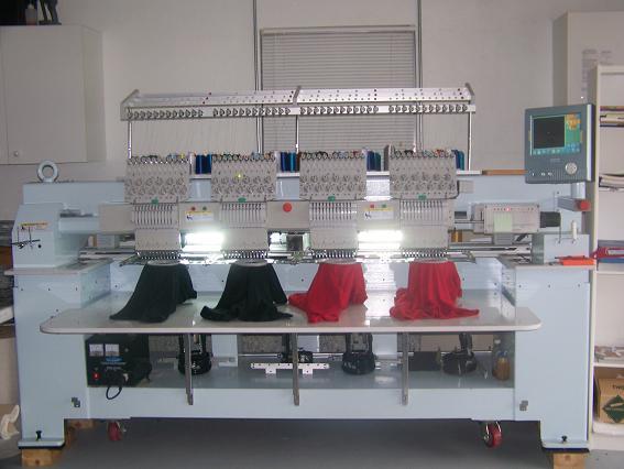 4 Head Embroidery Machine