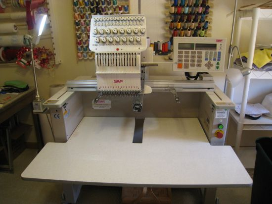 Commercial embroidery machine for sale makaroka
