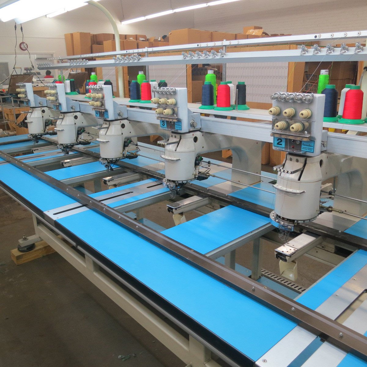 Barudan 6 Head Embroidery Machine