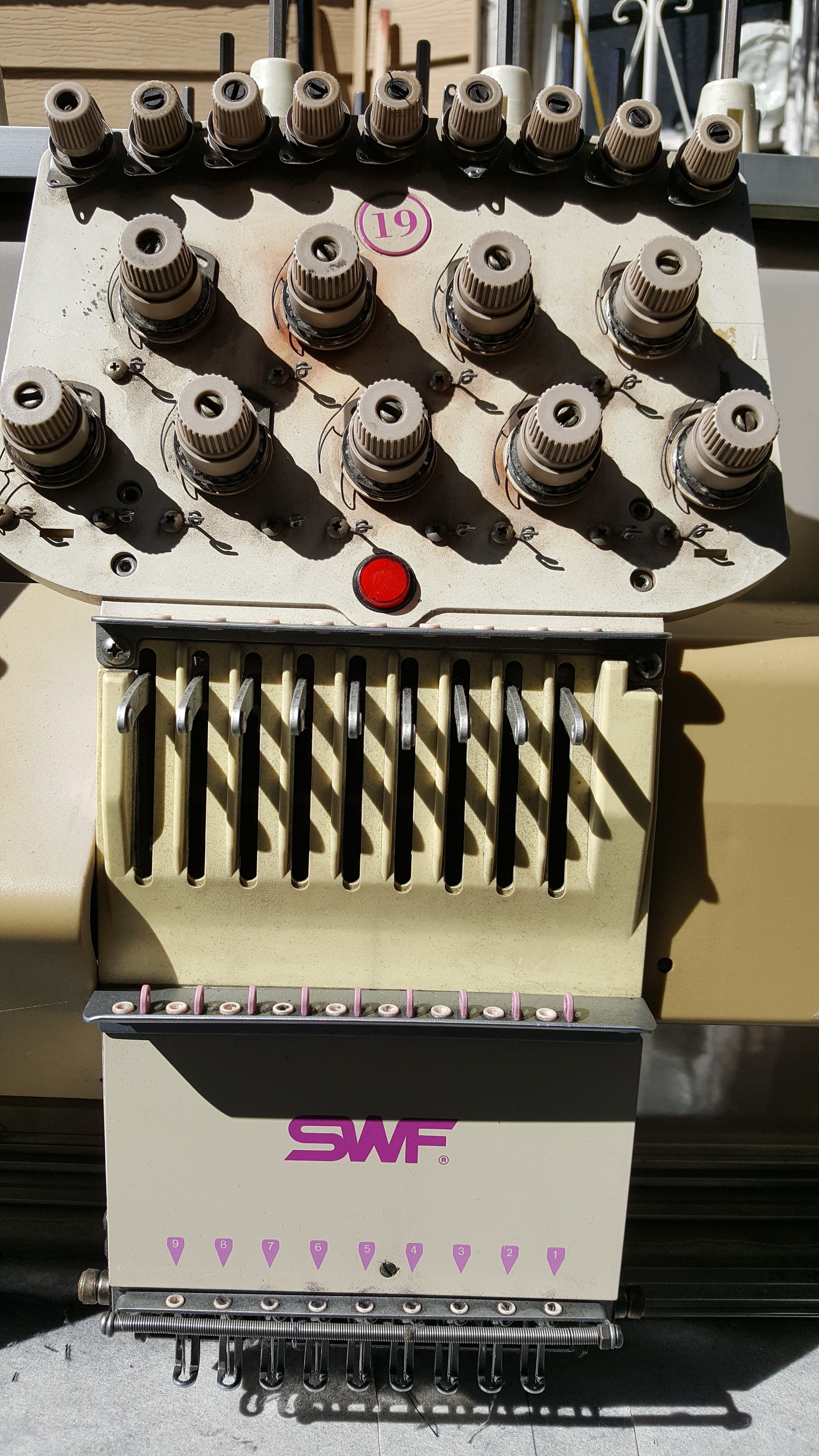 swf embroidery machine price
