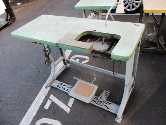 Industrial Sewing Machine Table W Motor RTR404040 Stunning Industrial Sewing Machine Tables