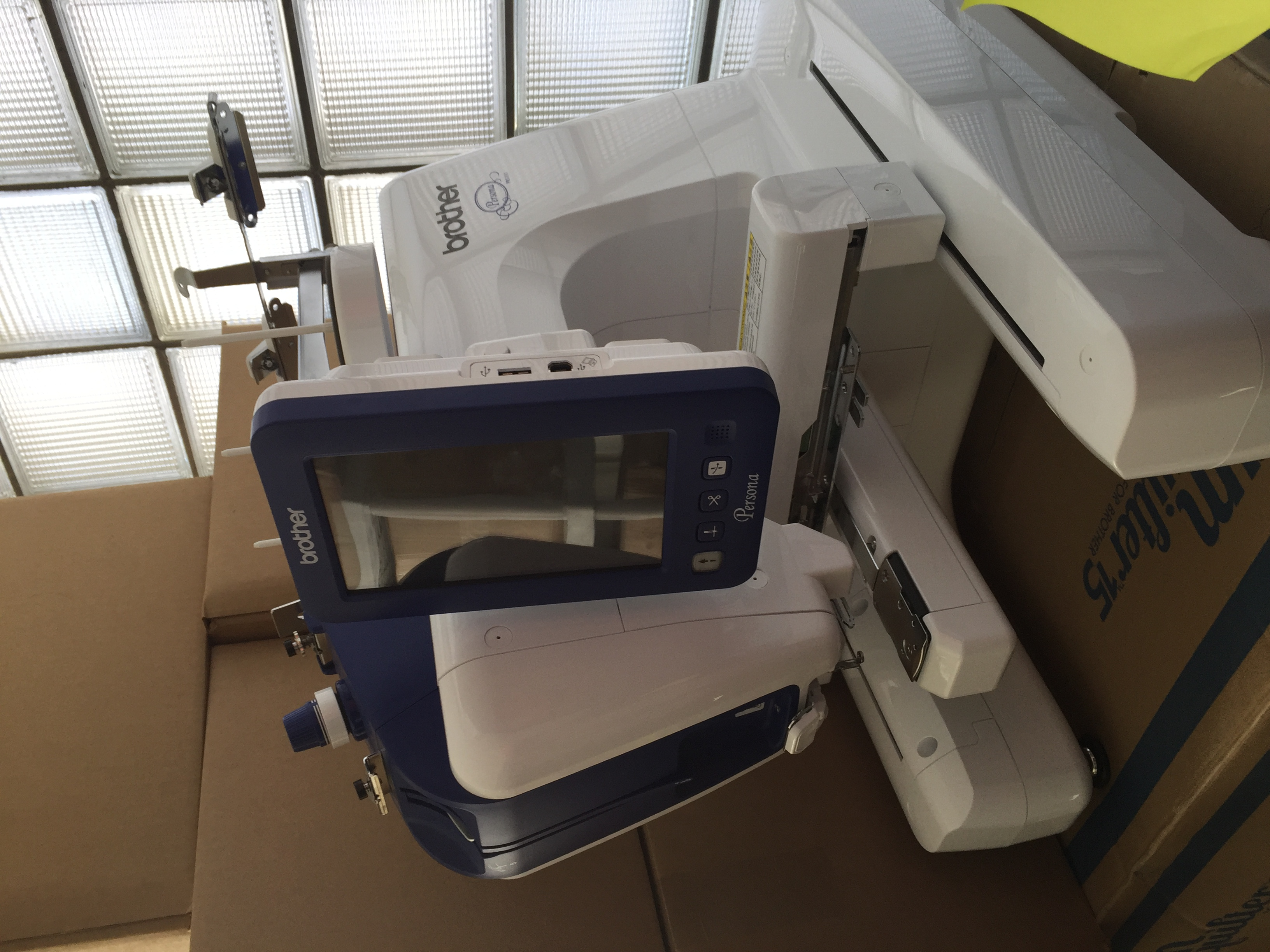 Like New Brother Persona Embroidery Machine 2016 4 300