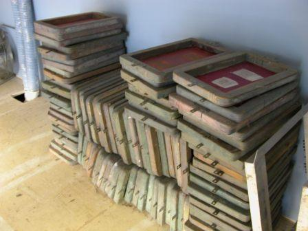 Used Screen Printing Frames (Pick up only)