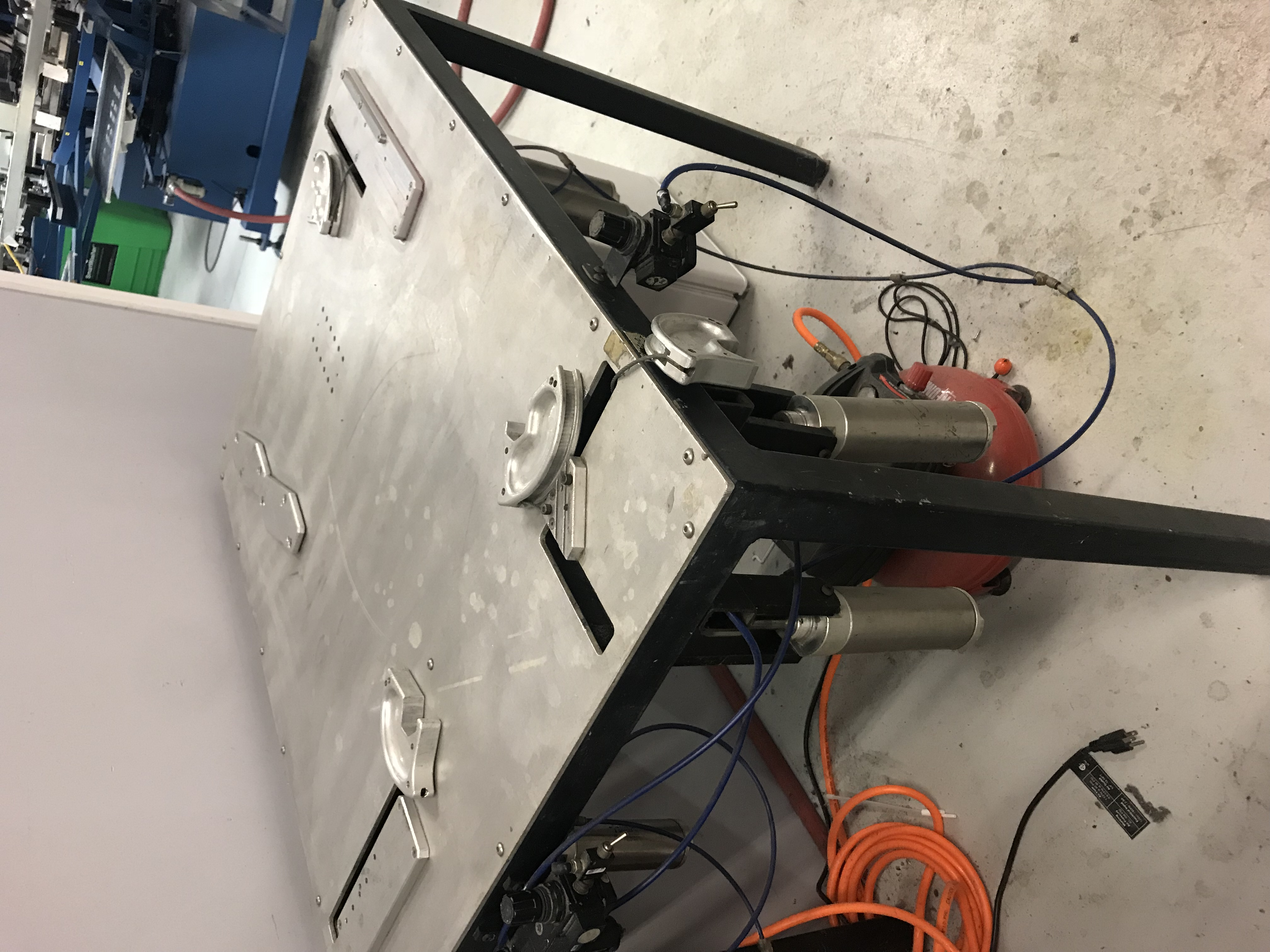 Pneumatic Stretching Table L2 Model Frames Etc