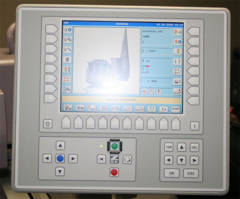 zsk embroidery machine for sale