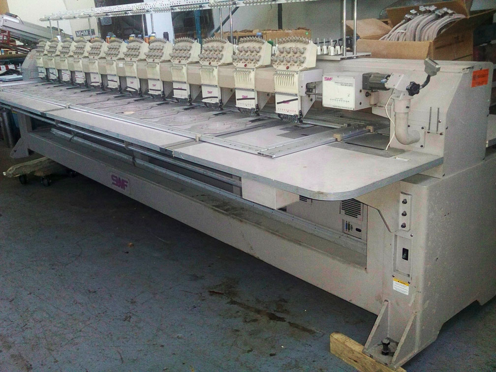 Swf 12 Head Embroidery Machine Swf A We912