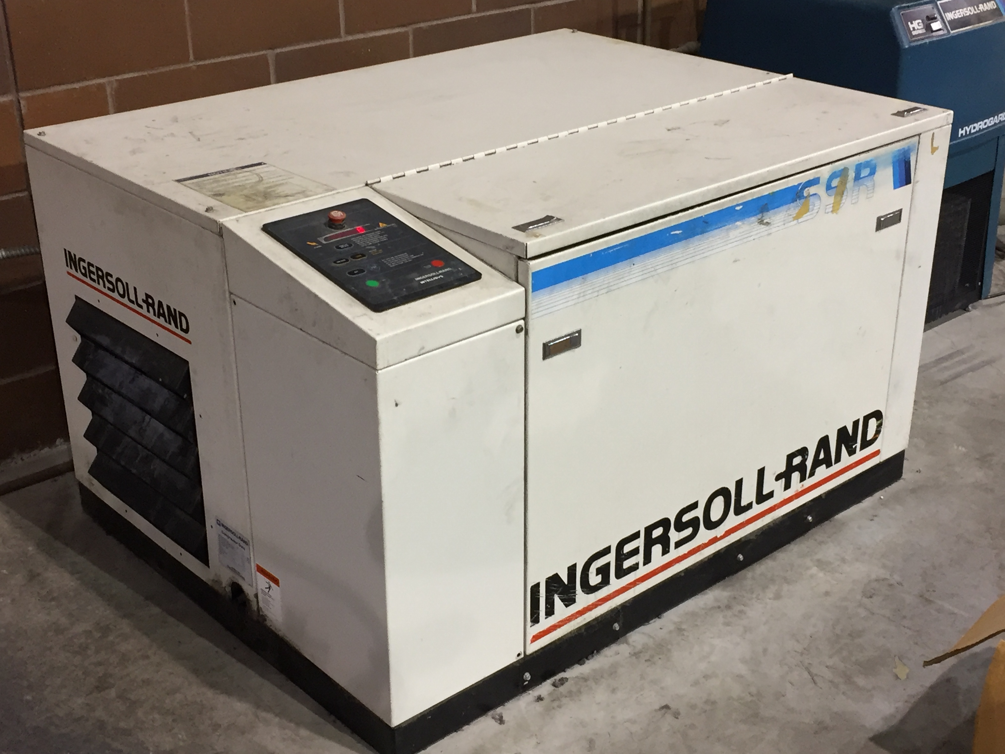 Ingersoll Rand 7/41 Compressor / Generator WITH Ifor