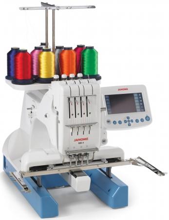 janome 4 needle embroidery machine