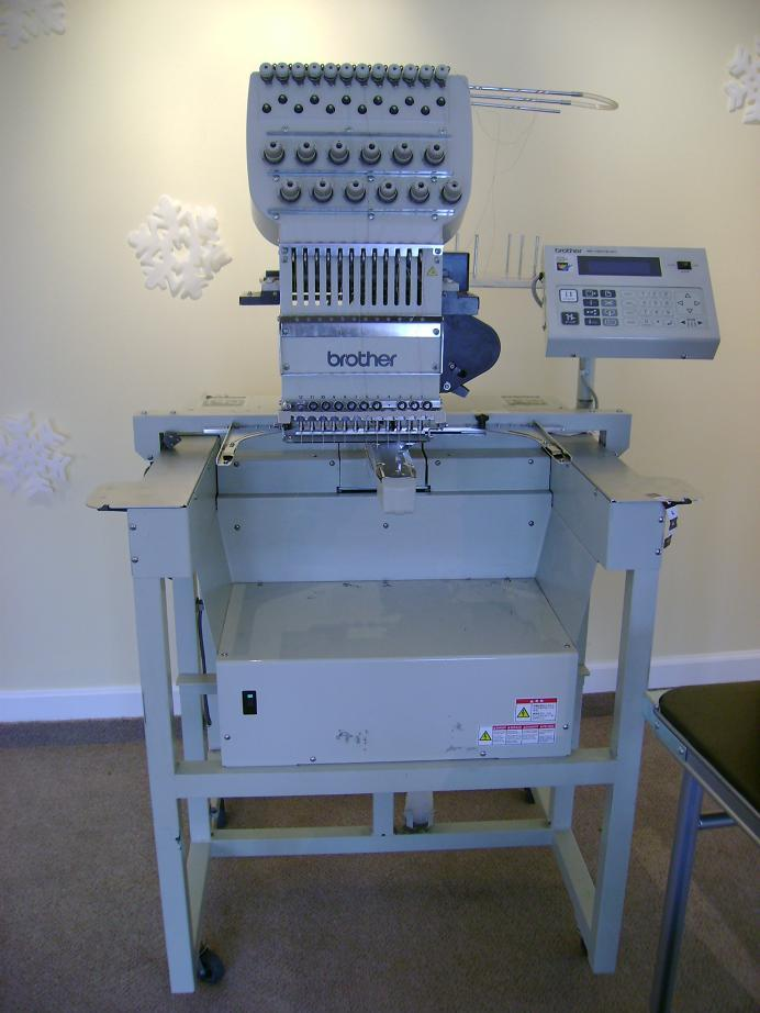 2002 Brother 12 Needle Embroidery Machine For 6000