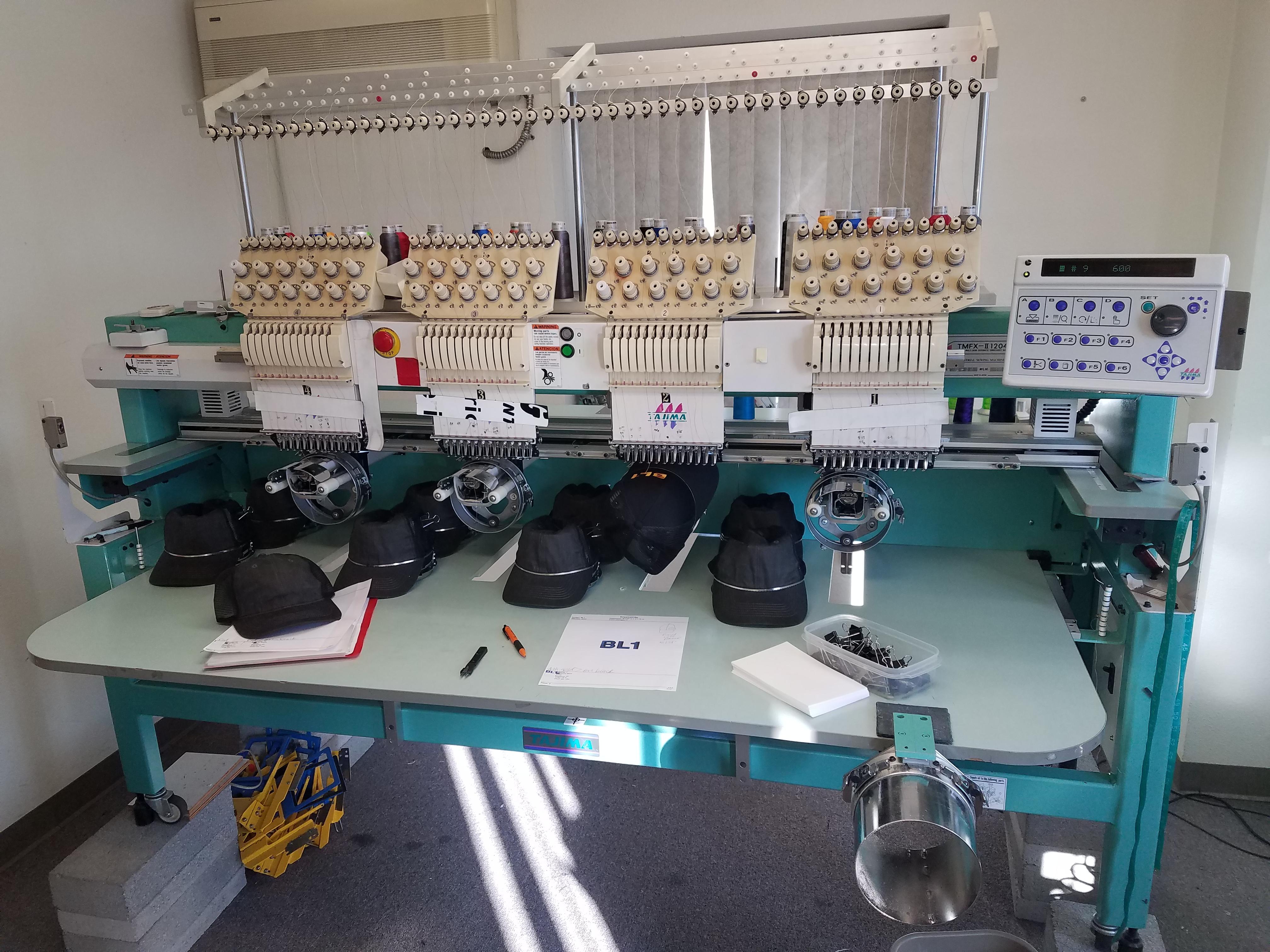 Used Tajima TMFXII 1204 Embroidery Machine