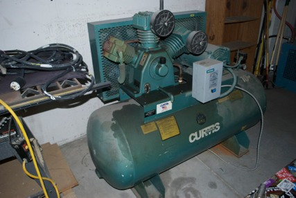 Curtis Toledo 10hp Air Compressor 4 Sale